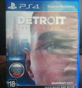 3 игры PS4 Detroit + InFamous Second Son + FIFA 15