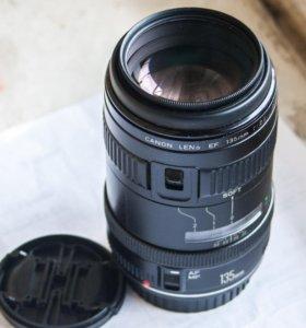 Уникальный резкий портретник Canon 135mm 2.8 soft+