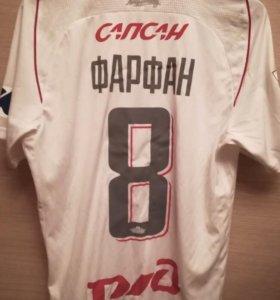 Игровая футболка Локомотив Москва Фарфан