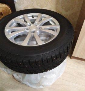 Зимние колеса на Тойота РАВ 4