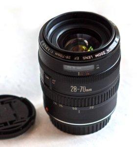 Легенда Canon EF 28-70 3.5-4.5 L-ка для небогатых+