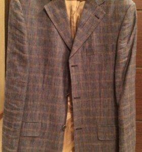 Пиджак мужской льняной