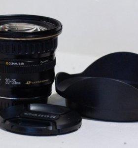 Резкий Ширик Canon 20-35 3.5-4.5 USM полный кадр +