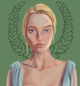 Портрет, афиша, иллюстрация