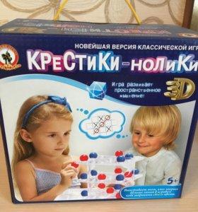 Новая настольная игра Крестики-нолики 3D