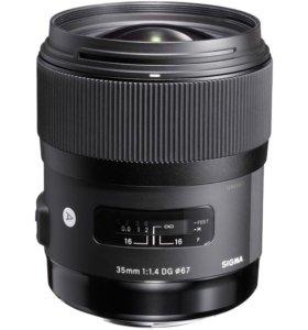 Sigma AF 35mm f/1.4 DG HSM Art