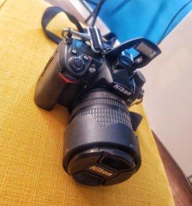 Фотоаппарат Nikon d7000, объектив 18-105vr