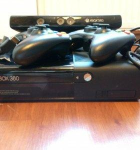 Xbox 360, 2 геймпеда+kinect