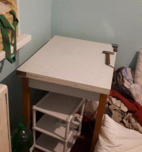 Стол для кухни раскладной