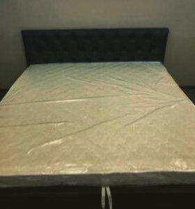 Новая кровать. Экокожа