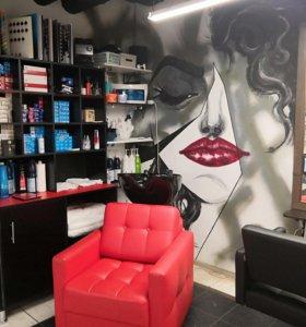 Кресло парикмахера в аренду