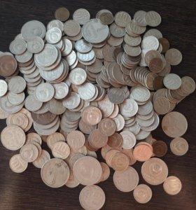 Монеты СССР 260 шт