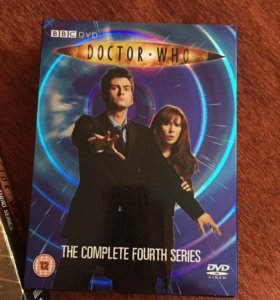 DVD боксы Доктор Кто( Doctor Who) и Merlin (Мэрлин
