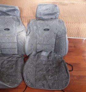 Чехлы на сиденье новые