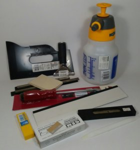 Инструмент для тонировки Выгонки Ножи Скребки