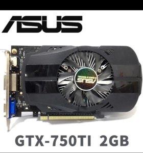 Видеокарта 750ti 2gb GDDR5