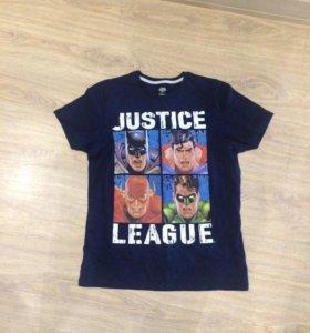 Футболка лига справедливости