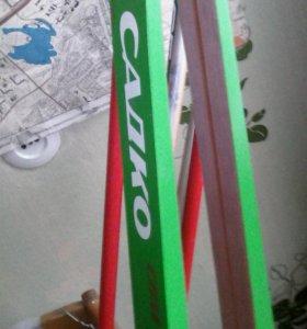 Ботинки лыжные палки лыжи