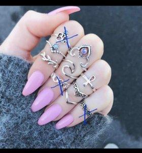 кольца в стиле бохо💍