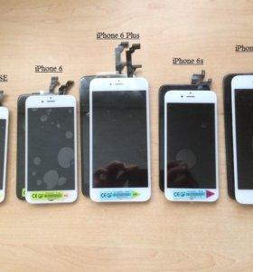 Дисплей дисплейный модуль экран на iphone айфон
