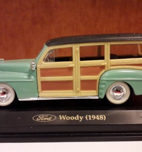 Модель автомобиля 1:43 Ford Woody