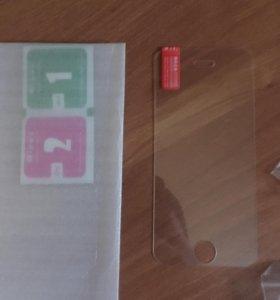 Защитное стекло на iPhone 5s/SE