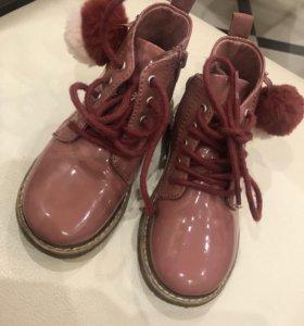 Ботиночки Zara, 24 размер