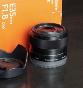 Объектив Sony SEL35F18 35mm f/1.8