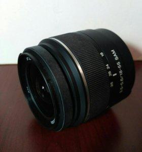 Обектив для фотокамер Sony DT 3.5-5.6/18-55SAM