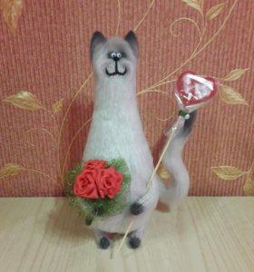 Интерьерный кот