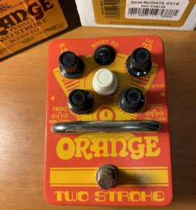 Orange Two Stroke Boost EQ