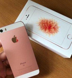 Айфон se розовый