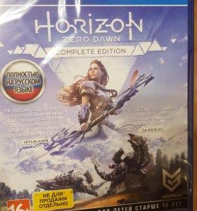 Диск с игрой Horizon zero dawn полное издание