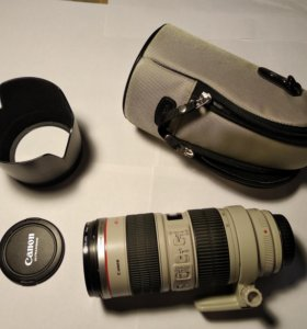 Объектив Canon ZOOM LENS EF 70-200 mm. 1:28 is USM