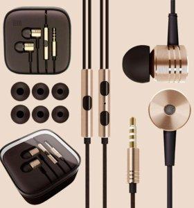 Наушники Xiaomi Piston, Apple EarPods, ZTE Axon