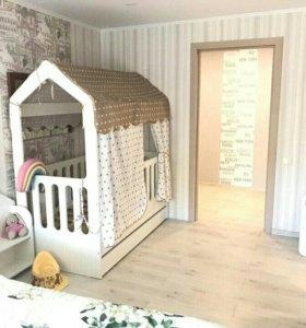 Детская кроватка Сказочный домик