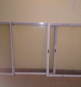 Аллюминивые окна на лоджию 6 метров