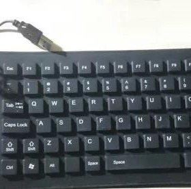 Портативная тихая клавиатура