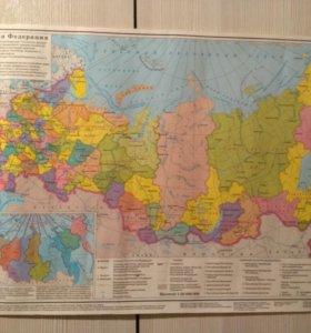 Карты РФ 2 шт.