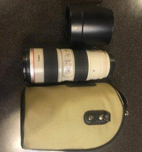 Canon 70-200 L f/2,8