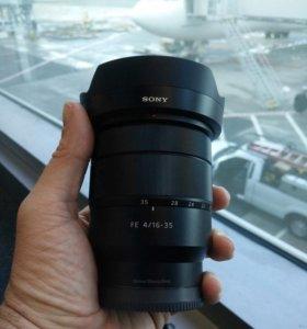 Sony 16-35 f4 Carl Zeiss