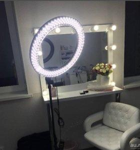 Продам кольцевую лампу новую 55 Вт 240 светодиодов