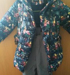 Фирменный  костюм для девочки