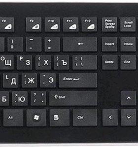 Клавиатура и мышь Intro DW910 Black USB