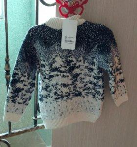 Новый детский свитер pultonic