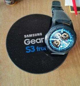 Обменяю часы SAMSUNG gear S3 Frontier