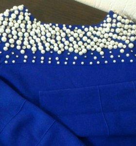 Маленькое синие платьице*