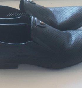 Мужские ботинки( кожа)
