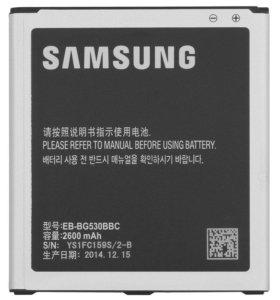 Аккумулятор на Samsung j3