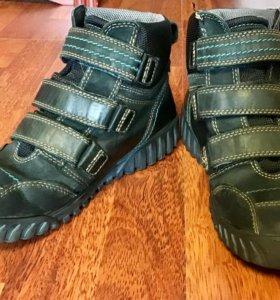 Ботинки Экко для мальчика демисезонные